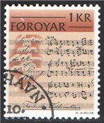 Faroe Islands Scott 66 Used